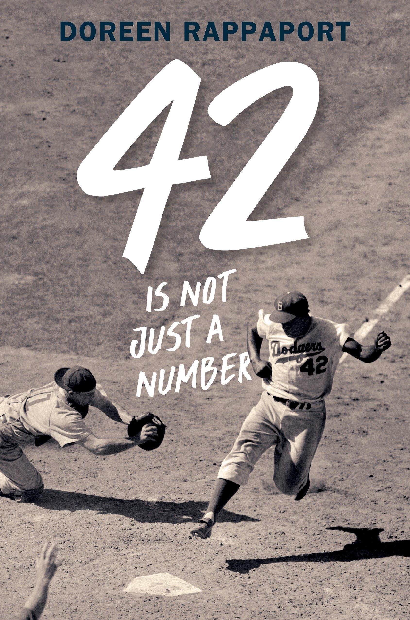 42 Is Not Just a Number: The Odyssey of Jackie Robinson, American Hero by Candlewick (Image #1)
