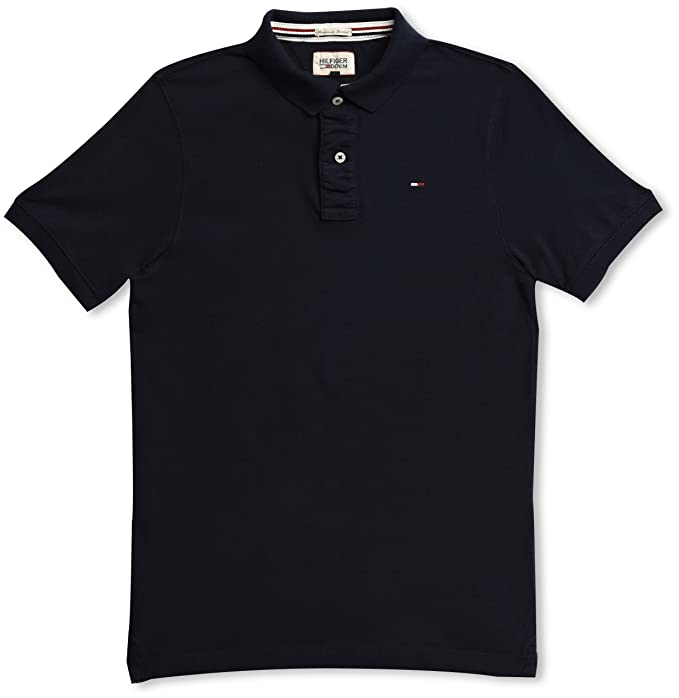 Tommy Jeans Herren 12 Arm Polo Shirt