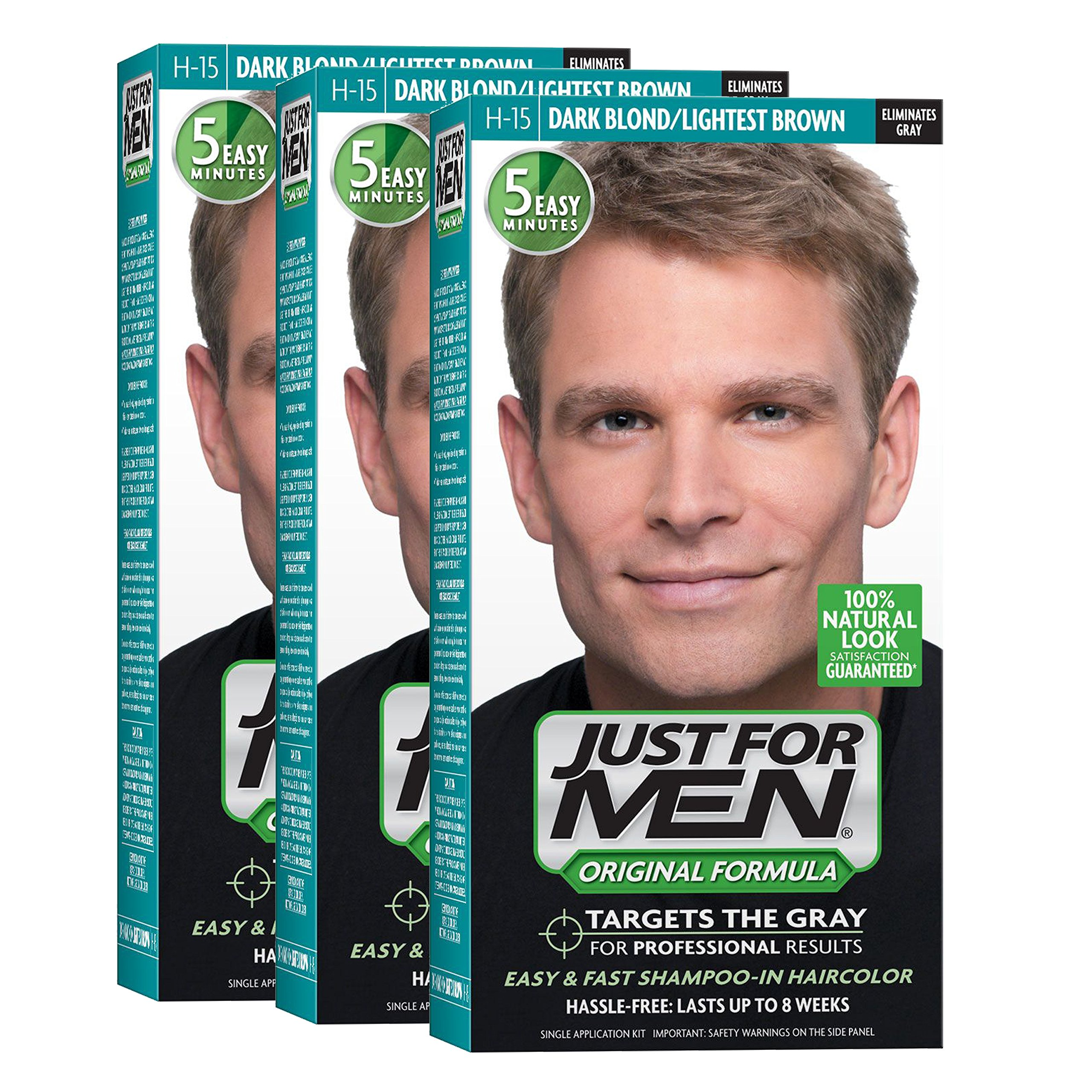 Amazon.com : Just For Men Original Formula Men\'s Hair Color, Sandy ...