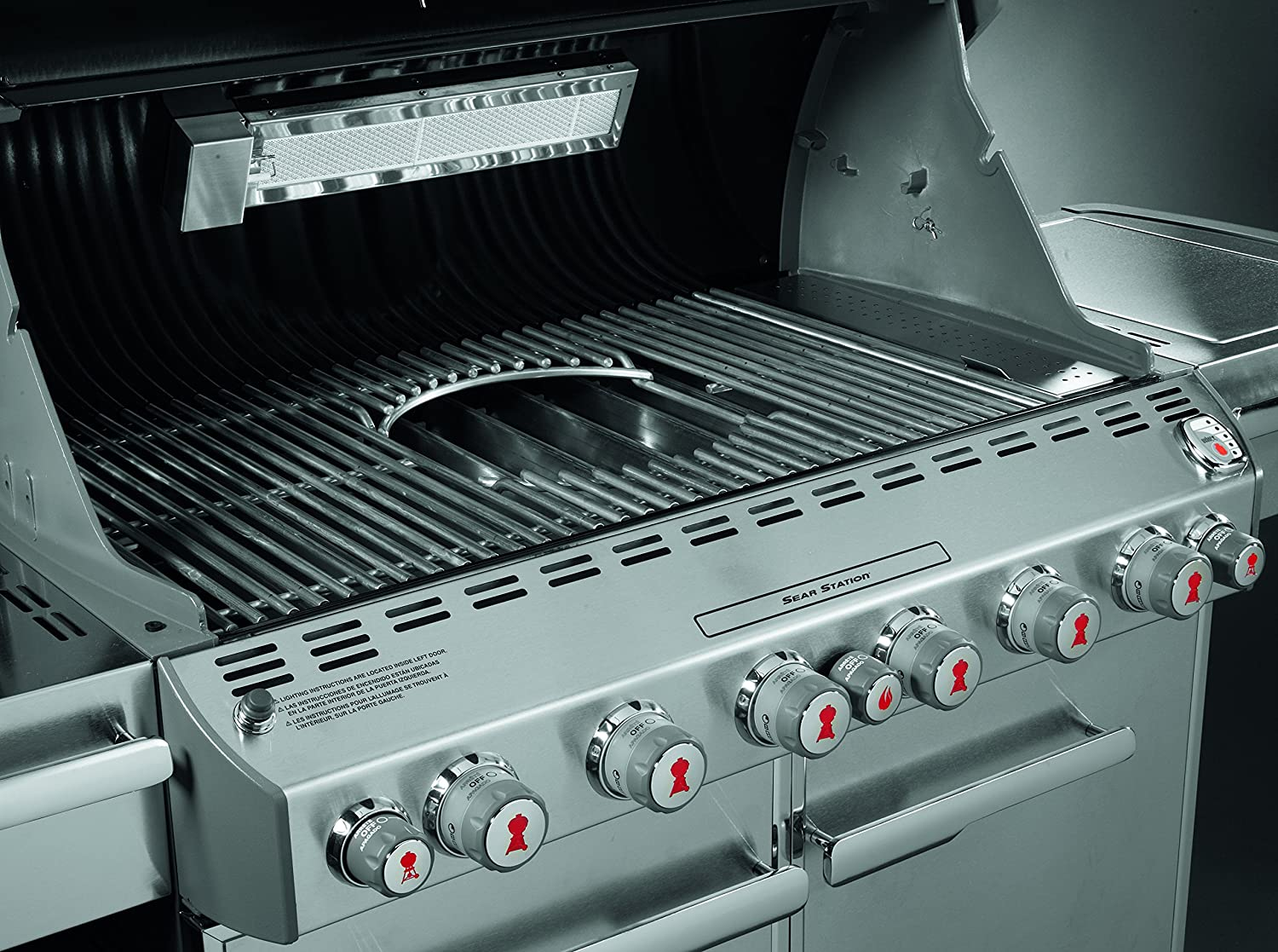 Amazon.com : Weber 7585 Gourmet Barbeque System Summit 600 Series ...
