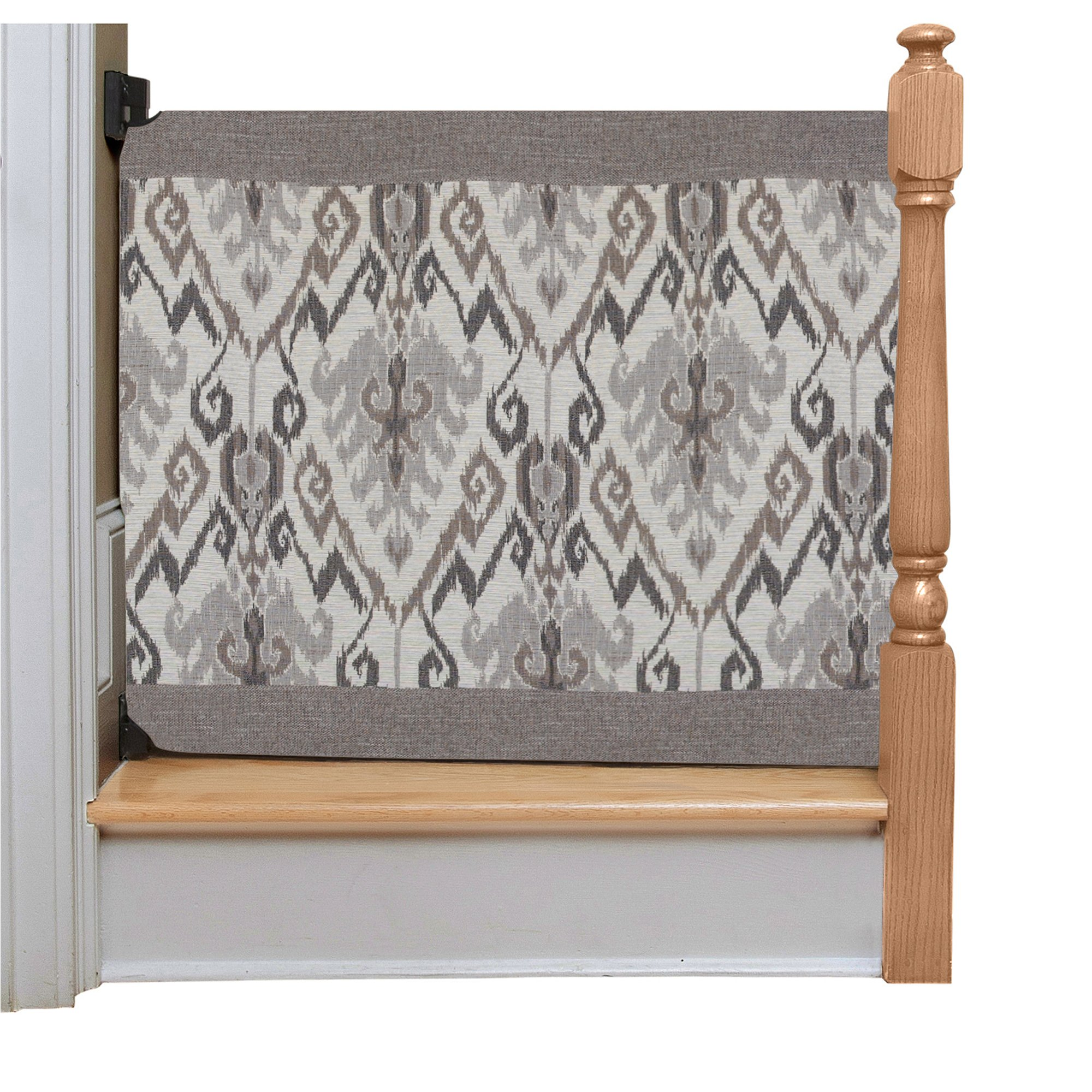 The Stair Barrier Wall to Banister Gate, Aztec, Regular