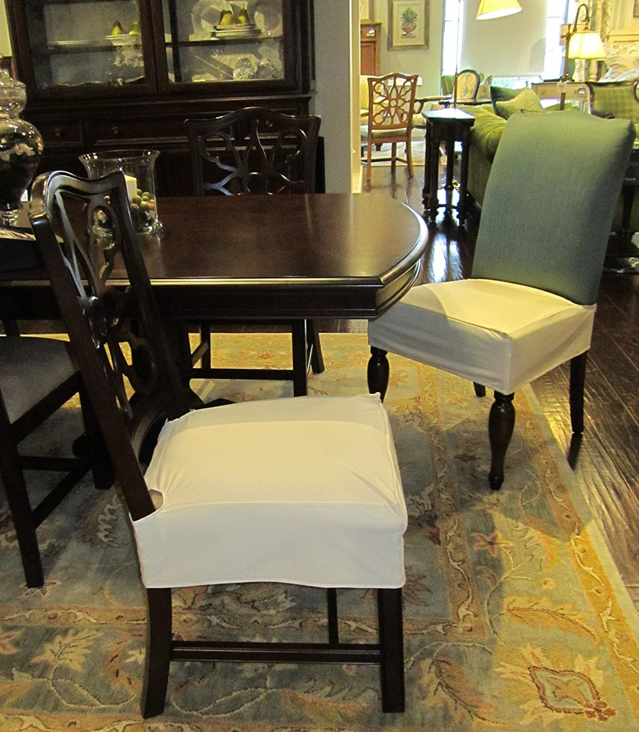 Amazon.com: Everyday Elegance Kitchen & Dining Chair Covers ...