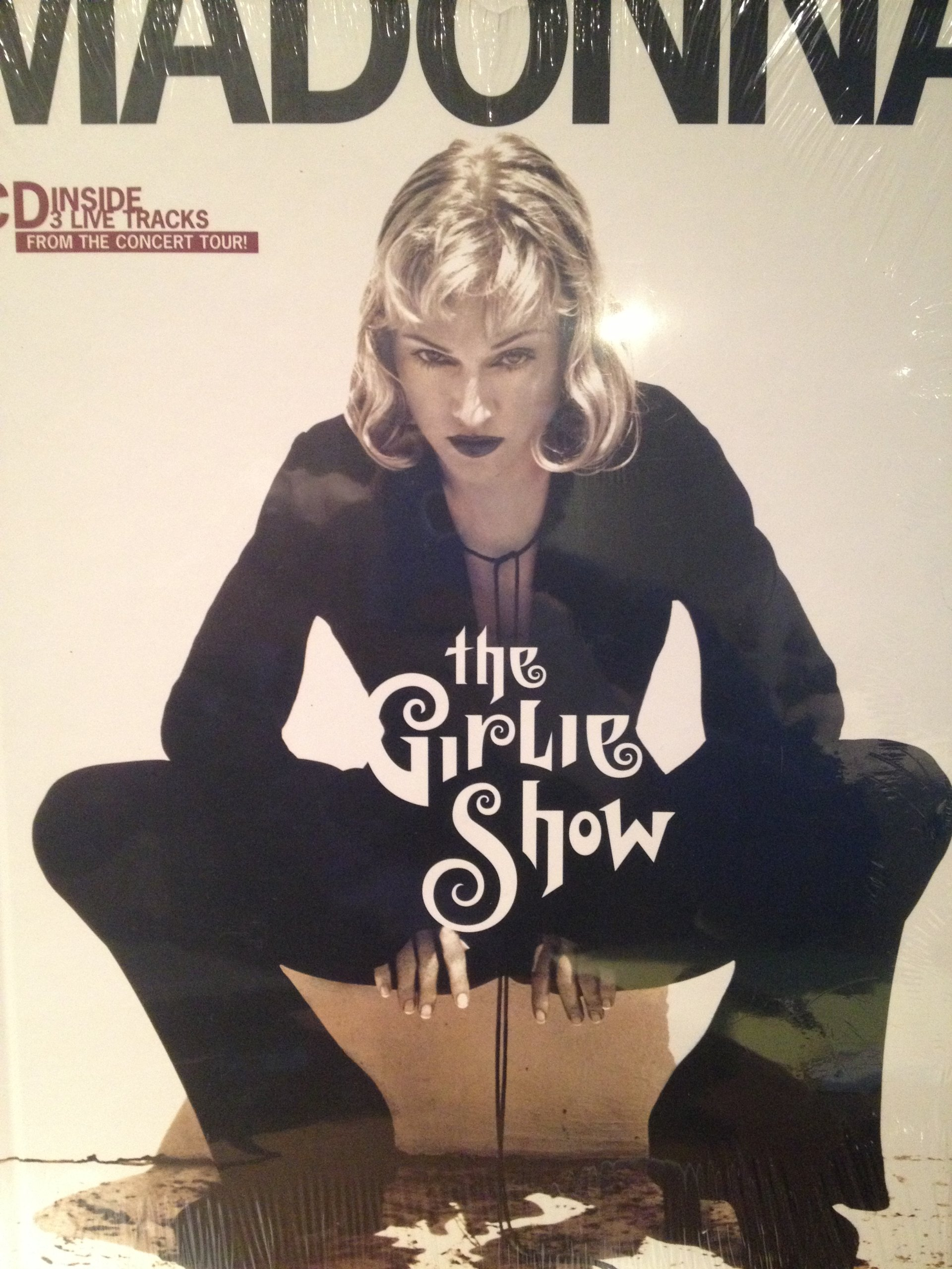 Madonna The Girlie Show Book and Cd Not Available