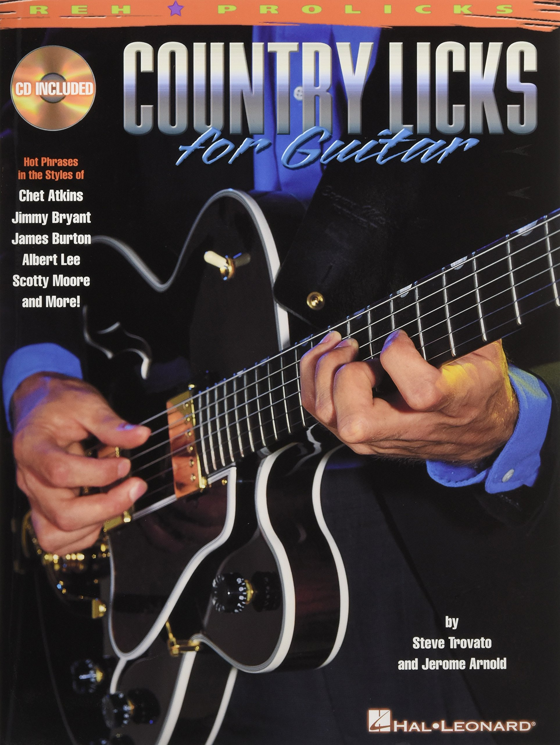 Country Licks for Guitar With CD with Demonstrations of Each Lick ...