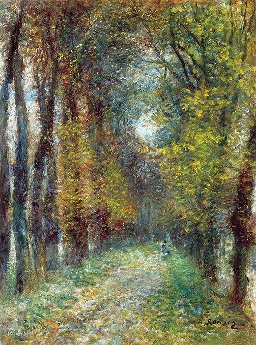 Walk by Pierre-Auguste Renoir Giclee Fine ArtPrint Reproduction on Canvas