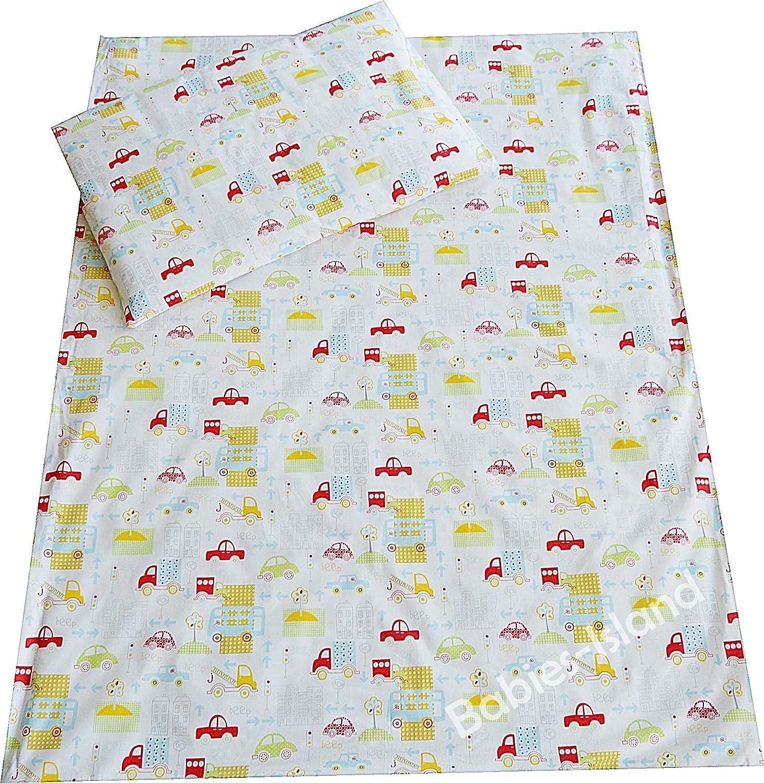 viele Designs verf/ügbar Bett Kinderbett Bettbezug Kissenbezug 2-teilig Bettw/äsche 100/x 135/cm