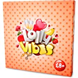 Game for Couples Lolly Vibes, Helps to Build and Improve Relationships! Spend time useful and having fun with your loved one partner, Wife or Husband, Man or Woman, Spice up your relations!