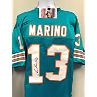 $199 » Dan Marino Miami Dolphins Signed Autograph Custom Jersey JSA Witnessed Certified