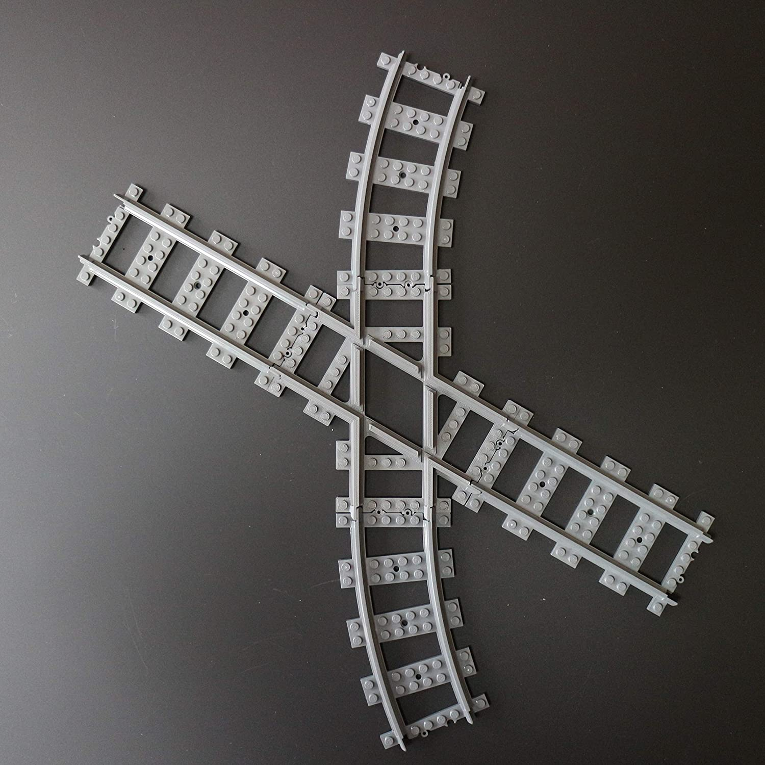 Caterpillar Red Angled Compatible Custom Cross Track Straight Cross Tracks Crossover Compatible with Leading Brand