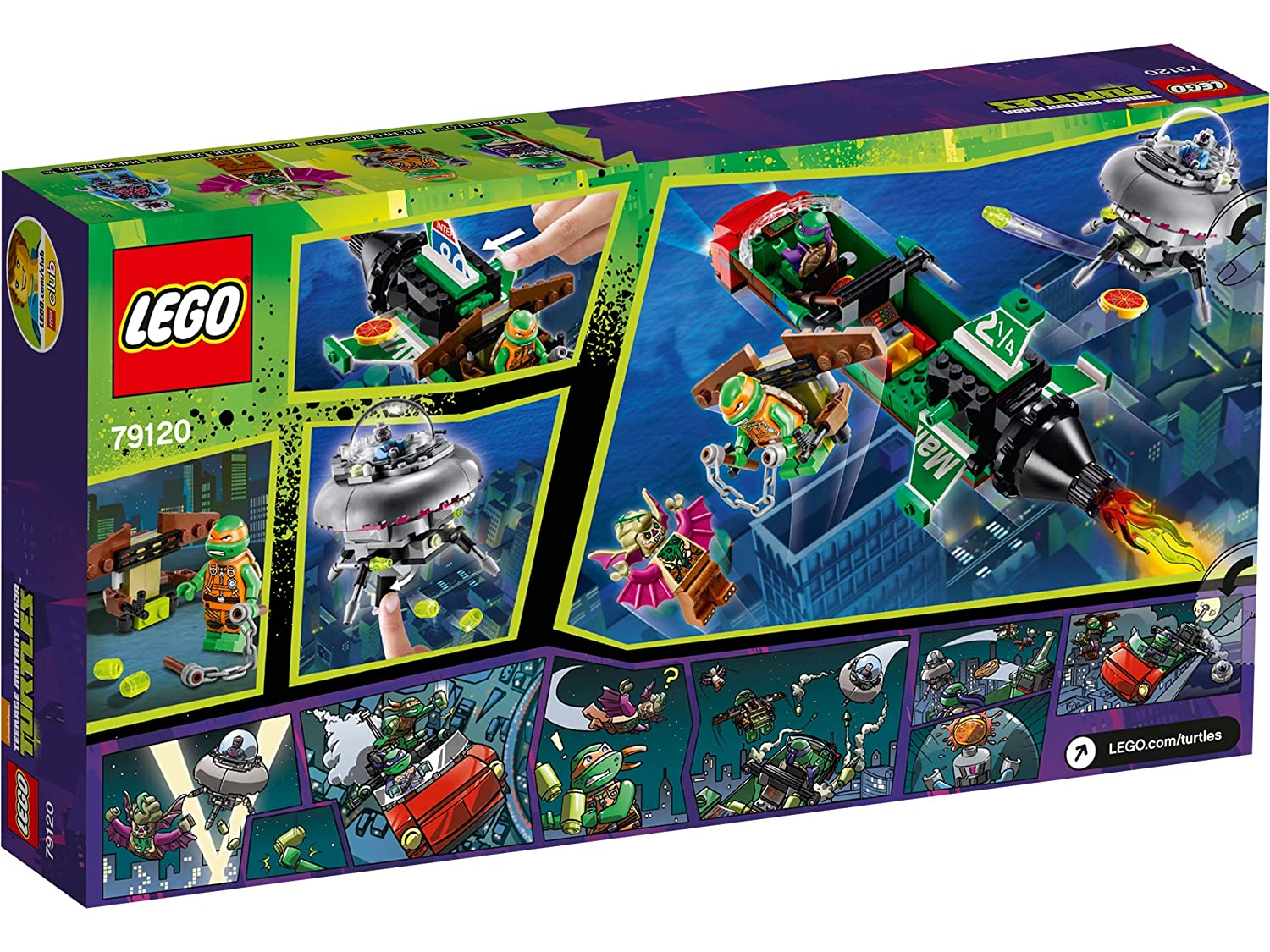 Amazon.com: LEGO T-Rawket Sky Strike Ninja Turtles: Video Games