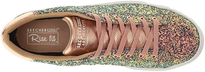 fb4338999ae35 Amazon.com | Skechers Women's Side Street-Awesome Sauce Sneaker | Fashion  Sneakers