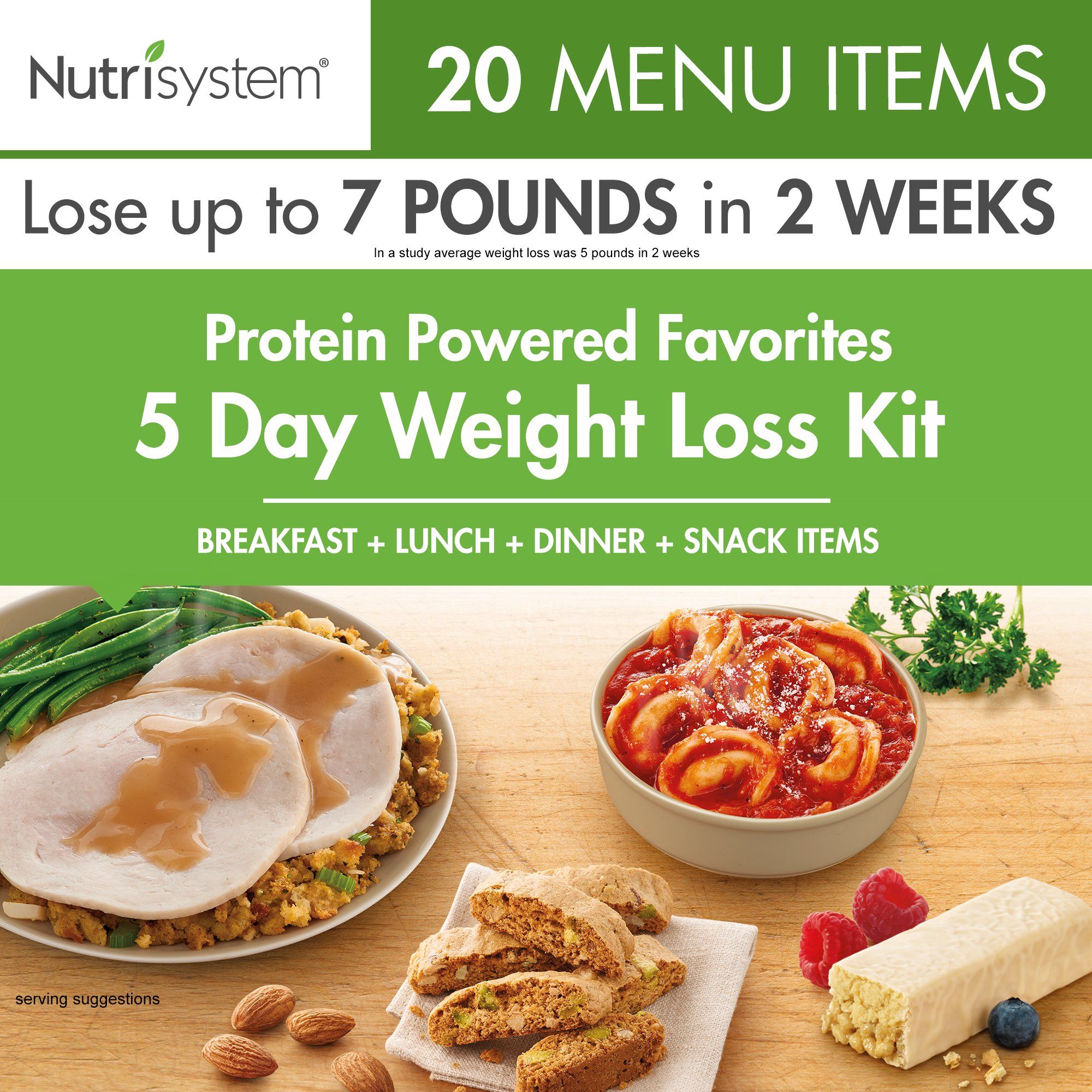 Nutrisystem® Protein-Powered Favorites 5-Day Weight Loss kit by Nutrisystem