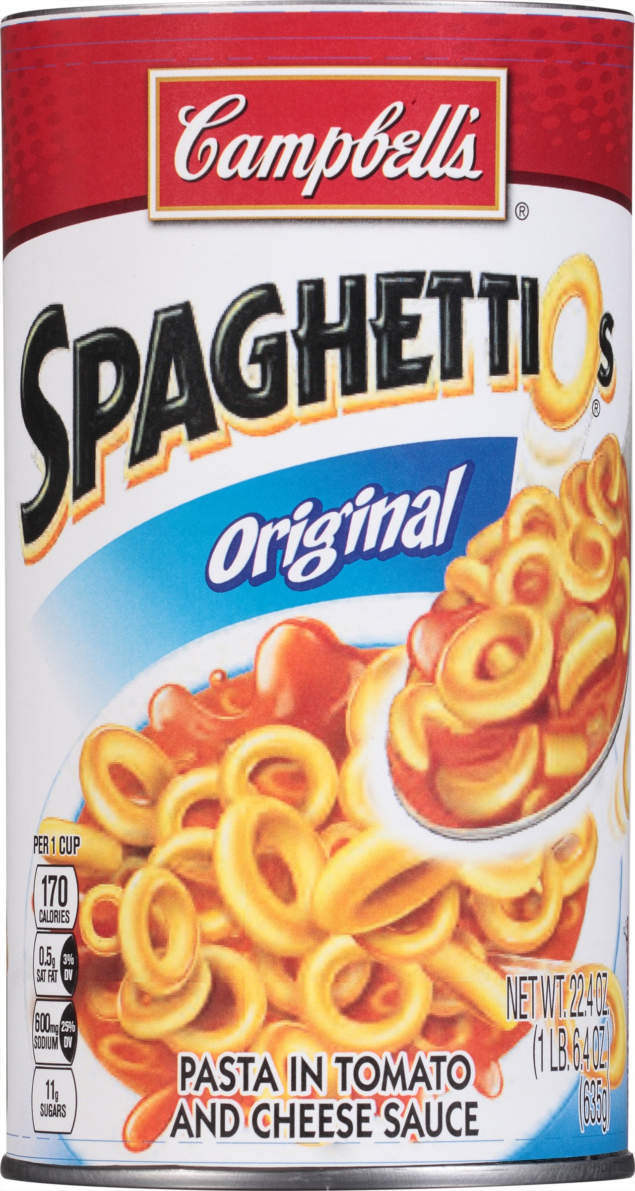 SpaghettiOs Original, 22.4 oz. (Pack of 12)