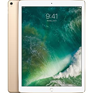 "Apple iPad Pro 2nd 12.9"" with (Wi-Fi + Cellular) 2017 Model, 512GB, GOLD (Renewed)"