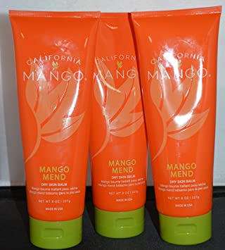 Amazon.com: California Mango Mend Tratamiento Bálsamo 8oz (3 ...