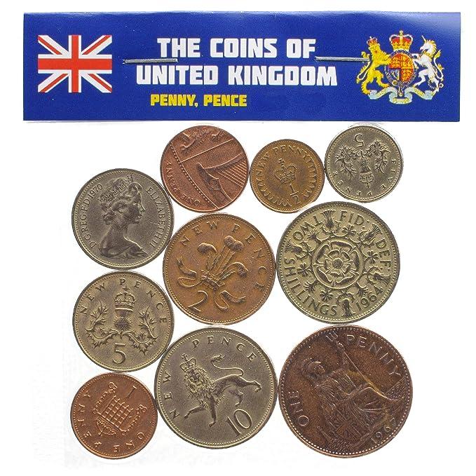 Amazon.com: 10 monedas coleccionables de más de 50 países de ...