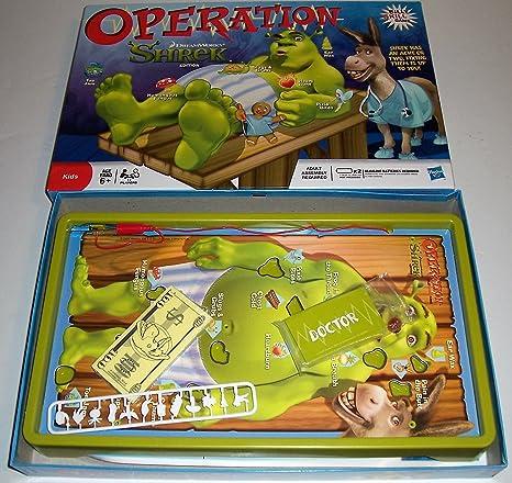 Hasbro Operación Shrek Edition - Juego de mesa [importado de Reino Unido]: Amazon.es: Juguetes y juegos