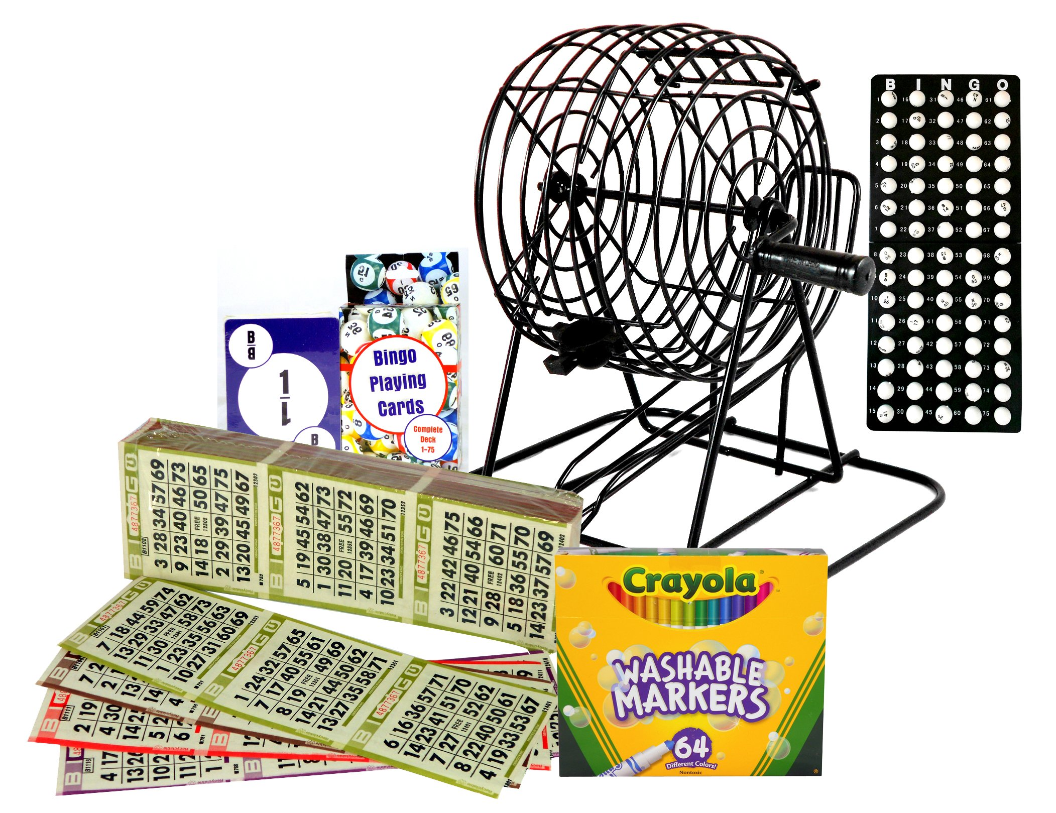 Complete Home Bingo Kit With Authentic Bingo Paper