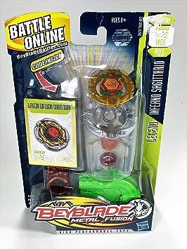 Hasbro Beyblade Metal Fusion 1 pack Legend Inferno Sagitario MF ...