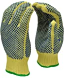 G & F 1670L Cut Resistant Work Gloves, 100-Percent Kevlar Knit Work Gloves, Make by DuPont Kevlar, Protective Gloves to Secure Your hands from Scrapes, Cuts in Kitchen, Wood Carving, Carpentry and Dealing with Broken Glass, 1 Pair, Large