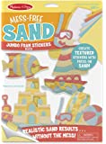 Melissa & Doug Mess-Free Sand Jumbo Foam Beach Stickers