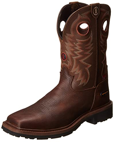 316f1a9ce48 Tony Lama Men's Grizzly Waterproof Composite Toe Western Boot
