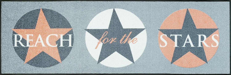 Wash+dry 076070 Fußmatte Fußmatte Fußmatte Reach for The Stars, 60 x 180 cm, Peach 9af52a
