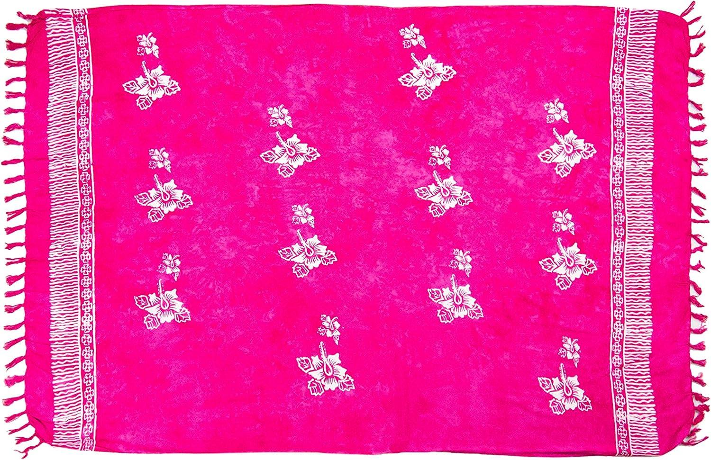 MANUMAR Damen Pareo blickdicht Sarong Strandtuch mit Schnalle 175x115cm und 225x115cm XXL /Übergr/ö/ße Hippie Sommer Kleid Sauna Hamam Lunghi Bikini Cover-up Strandkleid Sommer Handtuch 155x115cm