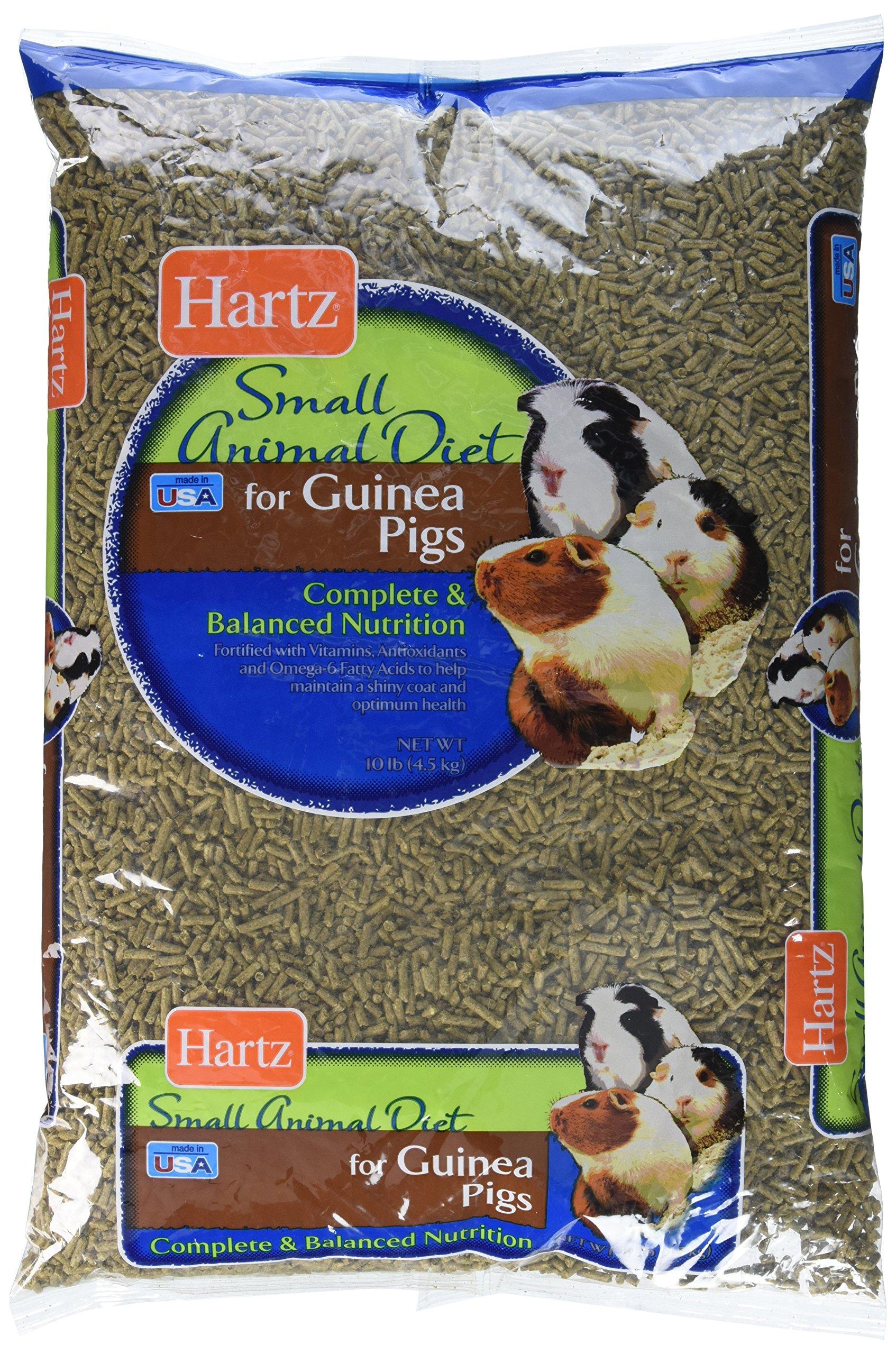 HARTZ Guinea Pig Small Animal Food Pellets - 10lb