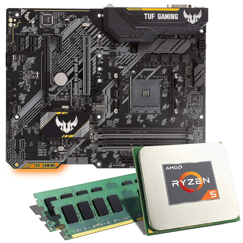 AMD Ryzen 5 2600X // ASUS TUF B450-PLUS Gaming Mainboard