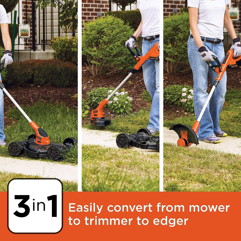 BLACK+DECKER 3-in-1 Lawn Mower
