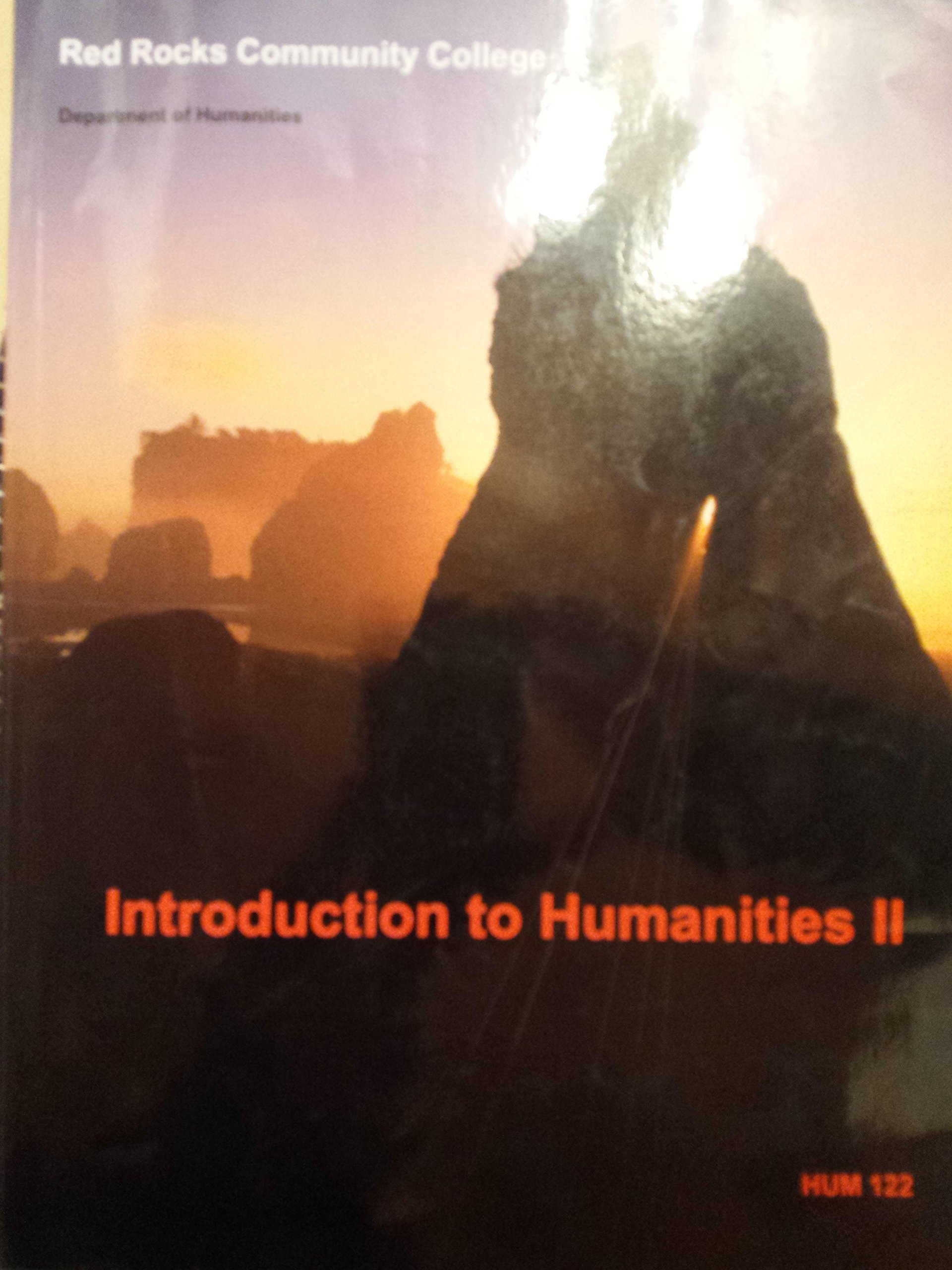Read Online Introduction To Humanities II (Hum 122 Red Rocks Community College) ebook