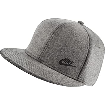 58010237491b Nike Tech Pack True Red Gorra, Hombre, Gris (Carbon Heather Black ...
