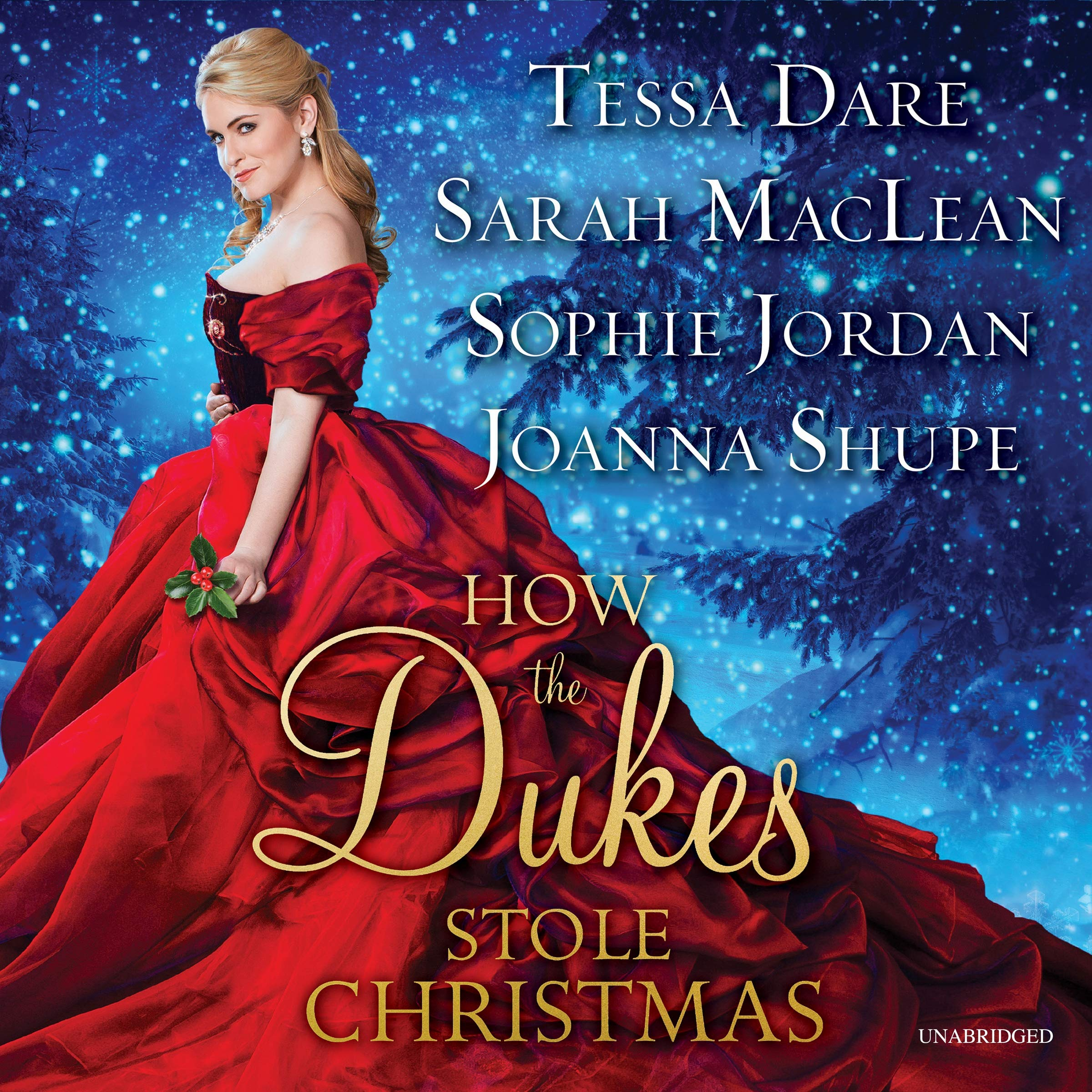 How the Dukes Stole Christmas: A Holiday Romance Anthology by HarperCollins B and Blackstone Audio