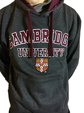 Amazon.com: Official Cambridge University Hoody - Charcoal - Official Apparel of the Famous Univeristy of Cambridge: Clothing