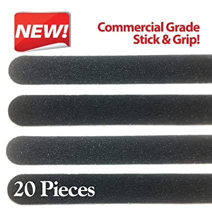 Non Slip Stair U0026 Floor Grip Strips 20 Pre Cut Strips 1u0026quot; X 15.5u0026quot