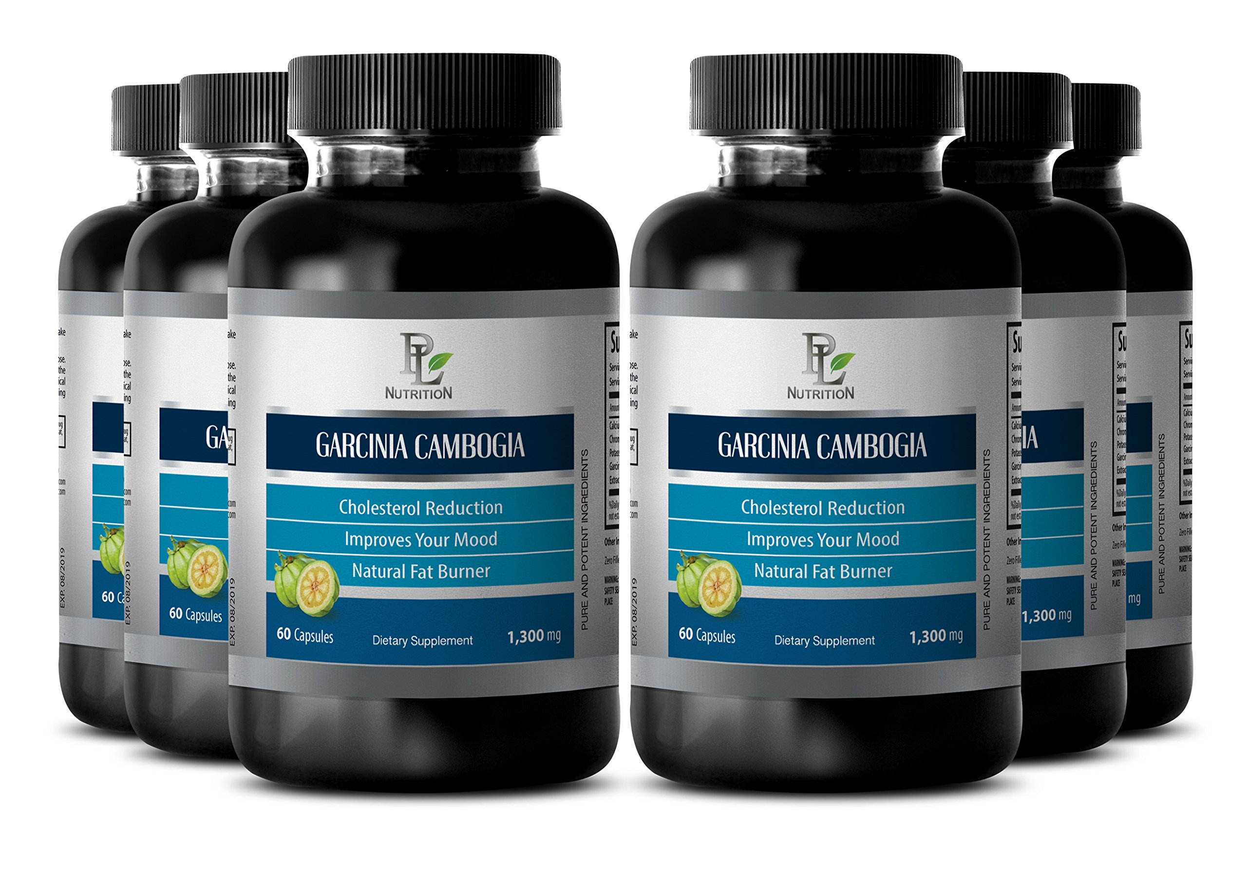 Garcinia weight loss pills - GARCINIA CAMBOGIA EXTRACT - Metabolism vitamins men - 6 Bottle 360 Capsules