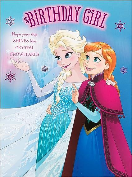 Phenomenal Hallmark Disney Frozen Birthday Card Time For Magic Extra Funny Birthday Cards Online Barepcheapnameinfo