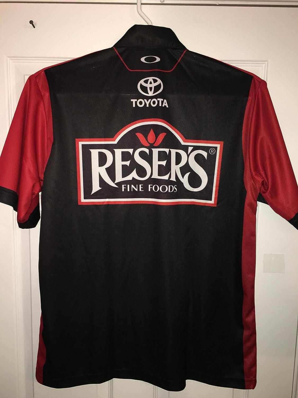 large erik jones oakley reser u0027s fine foods nascar pit crew shirt