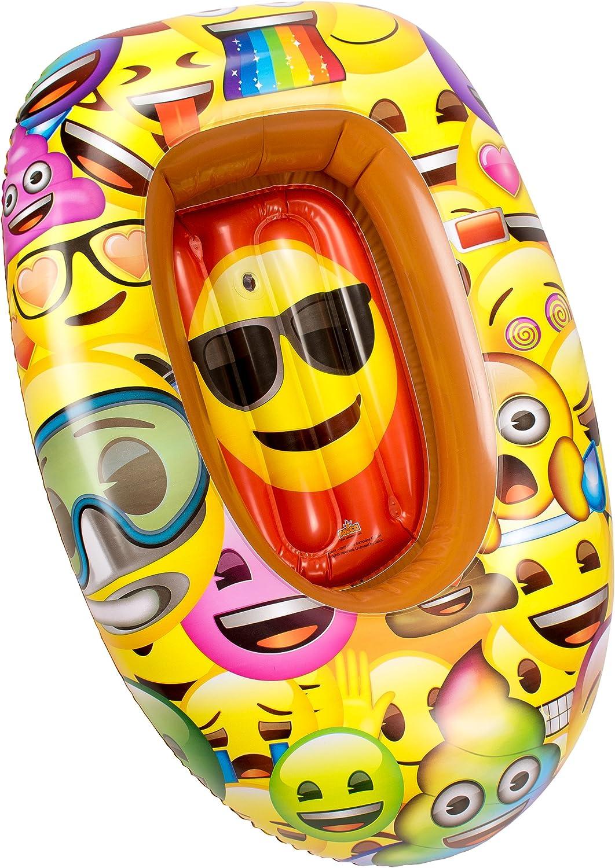 Emoji- Barca Hinchable (Saica 5890): Amazon.es: Juguetes y juegos