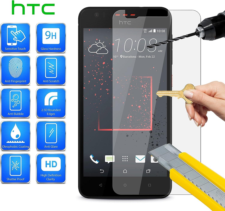 By MobiBax MobiBax - Protector de Pantalla para HTC U11 Life (2018) 2Q3F200 de Cristal Templado 100% Transparente, a Prueba de roturas, dureza 9H, 0,3 mm, Vidrio ...