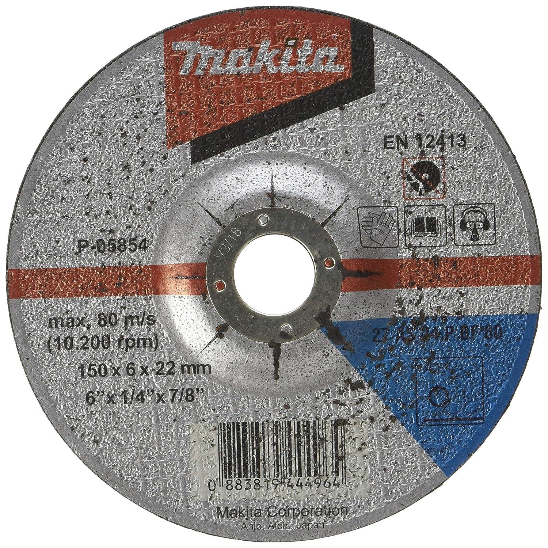 Grinding Disc 5.9inx6mm P-05854 5 Pcs Makita