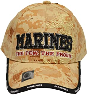 US Marines Corps Few Proud Military USA Digital Camo Camouflage Licensed Hat  Cap 95360b340