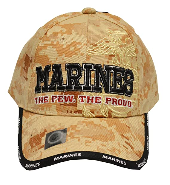 9044a044b73a7 Image Unavailable. Image not available for. Color  US Marines Corps Few  Proud Military USA Digital Camo Camouflage Licensed Hat Cap