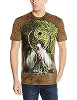 The Mountain Men's Yin Yang Tree Adult T-Shirt