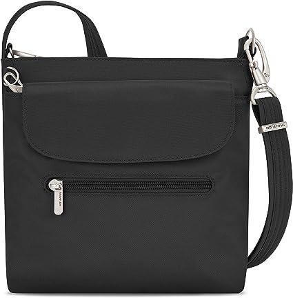 Travelon Anti-Theft Classic Mini Shoulder Bag, Black, One Size