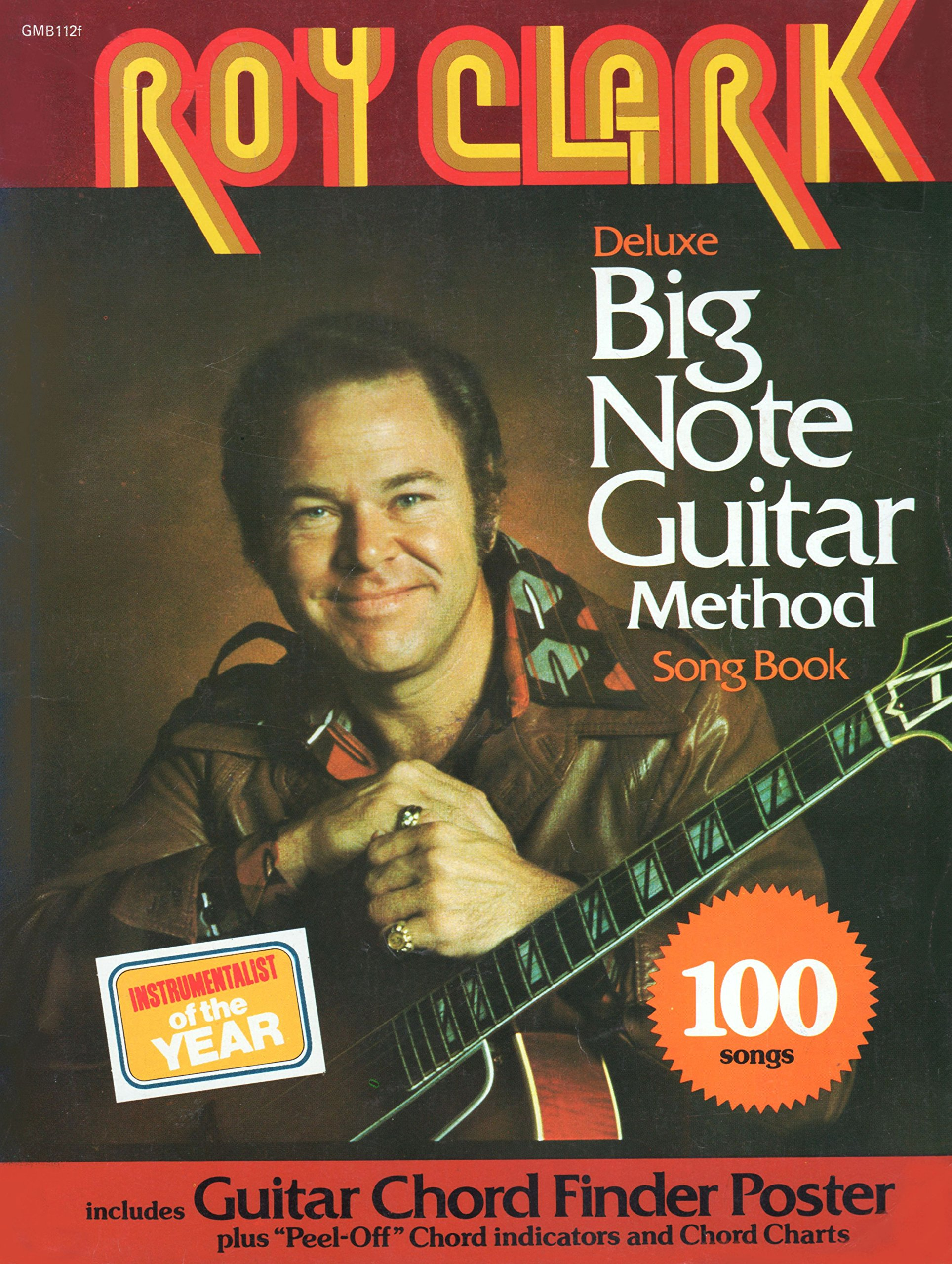 Roy Clark Deluxe Big Note Guitar Song Book 9780849401602 How To Read Chord Diagrams Self Taught Lessons Books