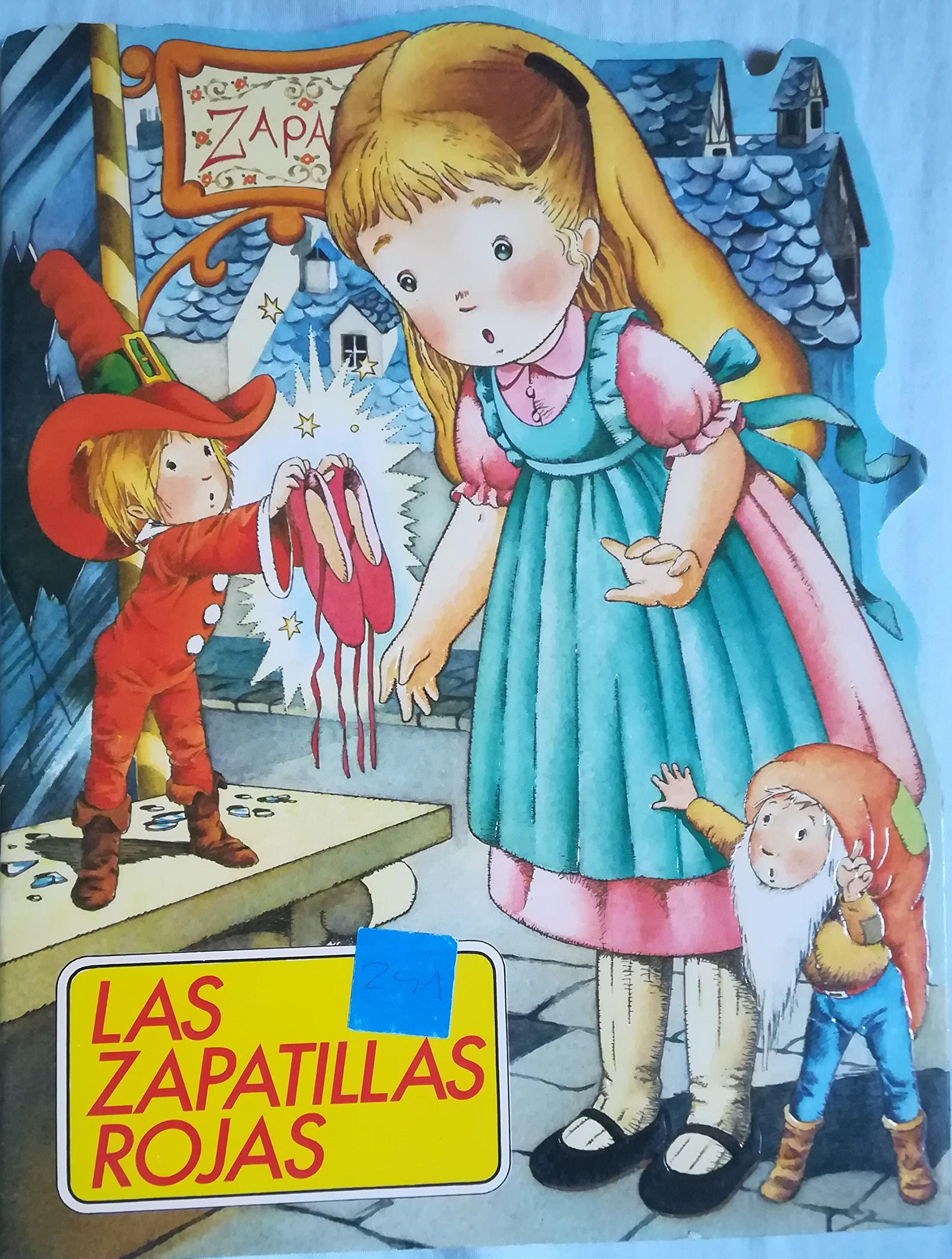 Zapatillas rojas, Las (CUENTOS CLÁSICOS TROQUELADOS): Amazon.es: Ediciones B: Libros