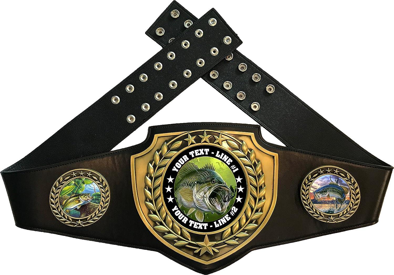 Express Medalsバス釣りTrophyチャンピオンベルトAwardカスタマイズ可能な B07FLFN38G