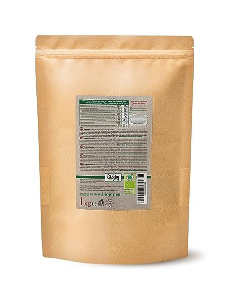 Biojoy Cúrcuma BÍO (Curcuma) en polvo | producida de raíces desecadas de cúrcuma bío | súper comida de la India | ideal para té, especia, leche de oro, ...